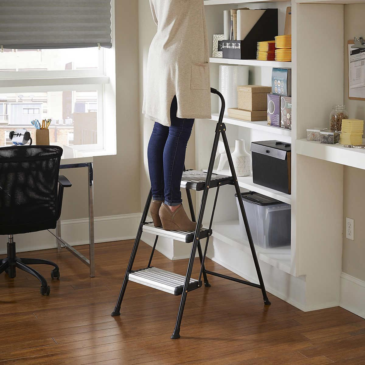 COSCO Wide Step Folding Stool