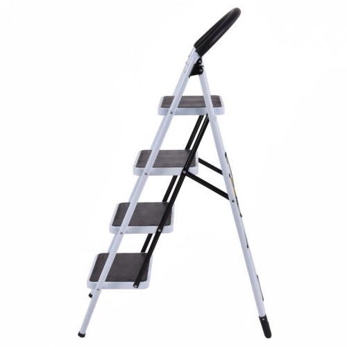 4 Steel Step Stool Heavy Duty with Capacity
