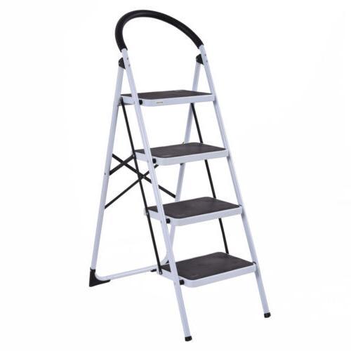 4 Ladder Steel Step Heavy Capacity
