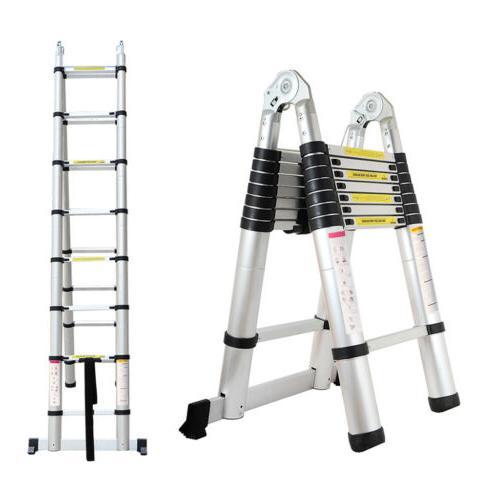Finether 8 Types Telescopic Ladder Multi-Purpose Aluminium E