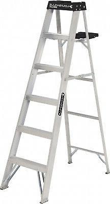 Louisville Ladder 6-Foot Aluminum Stepladder 250-Pound Capac