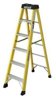 Werner-6106W 6 Ft. Type IA Fiberglass Step Ladder