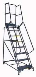 BALLYMORE 6CEP1 Ladder 6 Step, DeepTop, Grate Tread, 450lb