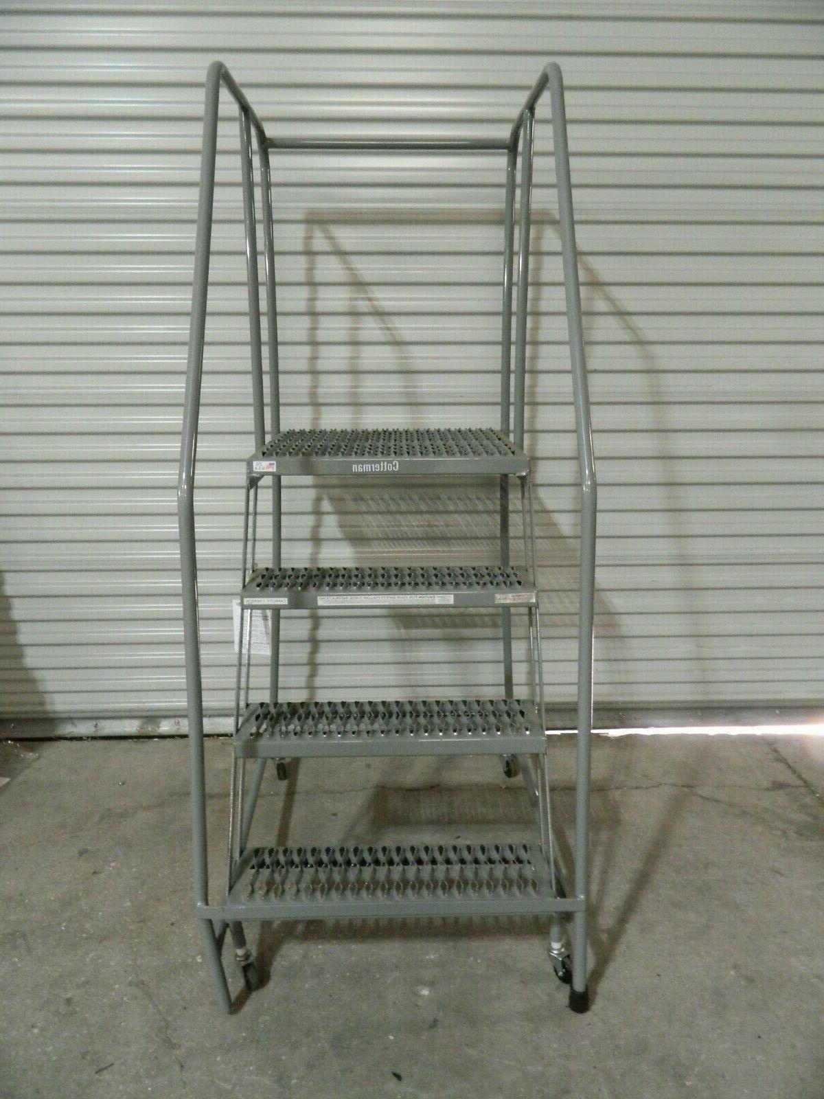 Cotterman 4 Rolling Safety Ladder D0460090-23
