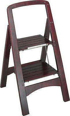 Vonhaus Steel 4 Step Ladder Folding Portable Stool