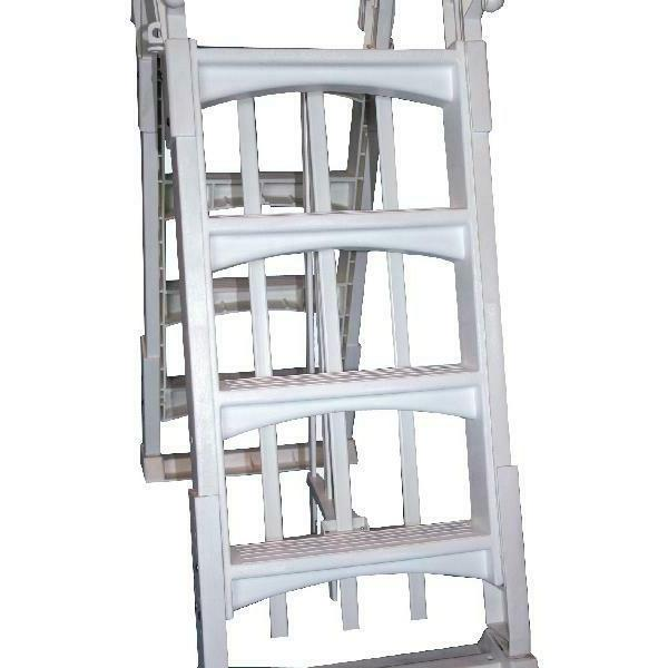 "Vinyl Works Ladder with Swimming 48 56"" Tall"