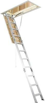 Werner AH2210 8 ft. - 10 ft. Aluminum Attic Ladder