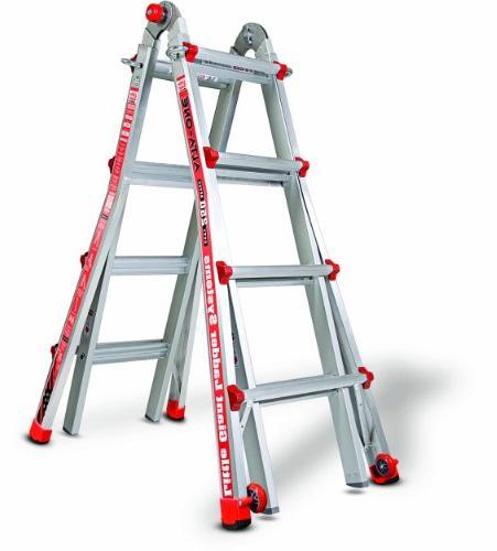 Little 17-ft Aluminum Ladder
