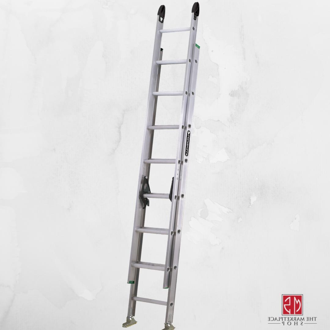 Aluminum Extension Ladder 16 ft Louisville Household Lightwe