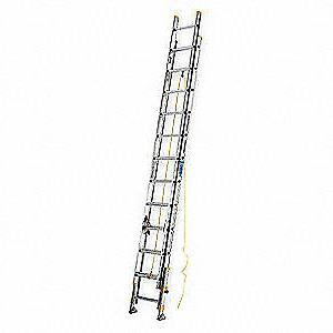 Werner 24 ft. Aluminum Extension Ladder, D1824-2EQ