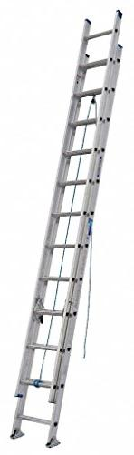 Werner 24 ft Aluminum Extension Ladder with 250 lb. Load Cap