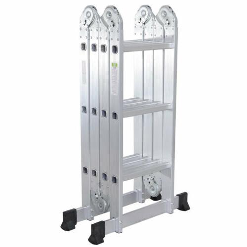 12.5 ft Aluminum Multi Ladders Supplie