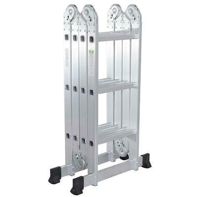 Aluminum Ladder Step Extendable Heavy Duty Platform