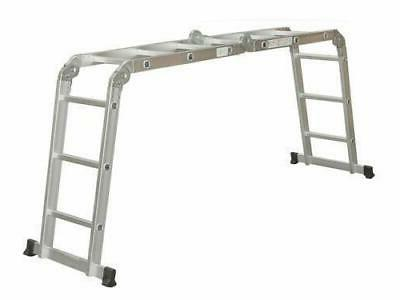 Aluminum Ladder Step Scaffold Extendable Duty