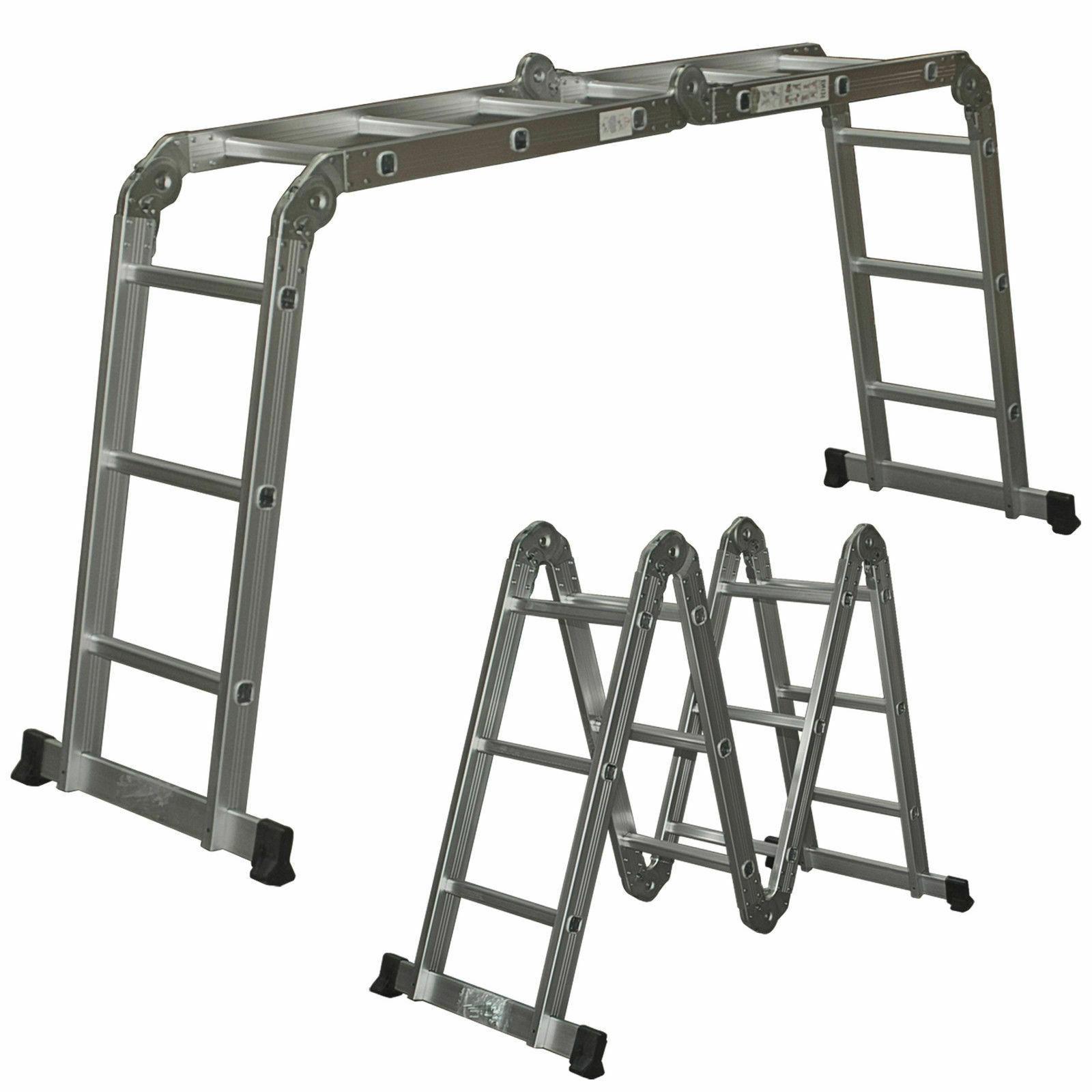 Aluminum Ladder Extendable Multi