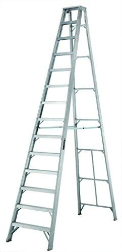 Louisville 14' Aluminum 300 lb. Stepladder, Type IA, AS1014