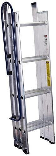 "Attic Ladder 7'- 9'10"" Loft Ceiling Stairs Pull Down Stairwa"