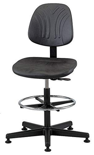 Bevco Standard Task Stool With Chrome Base with 300 lb. Weig