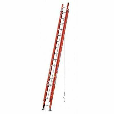 WERNER D6232-2 Extension Ladder, Fiberglass, 32 ft. , Type I