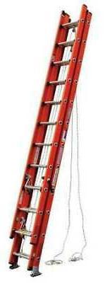 Werner-D6232-3 32Ft Type 1A Fiberglass D-Rung Extension Ladd