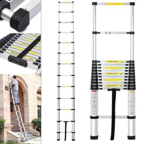 12.5FT Multi-Purpose Portable Telescopic Ladder Caravan RV P
