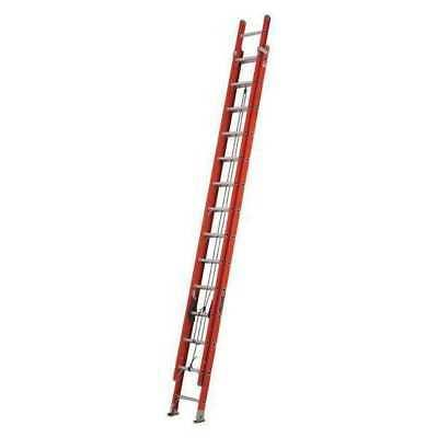 extension ladder fiberglass 28 ft type ia