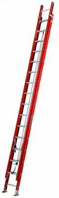 FE3200 Series Fiberglass Channel Extension Ladders - 32' fib