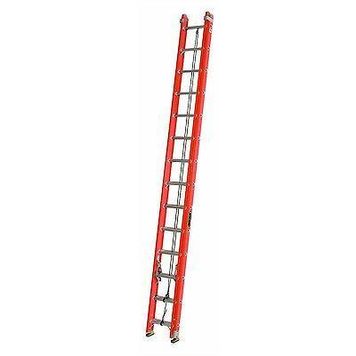 Louisville Ladder FE3228-E03 Fiberglass Extension Ladder wit
