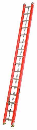 Louisville Ladder FE3232-E03 Fiberglass Extension Ladder wit