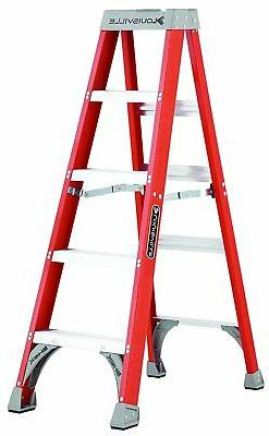 5 ft. Fiberglass Step Ladder 300 lbs. Load Capacity Type IA