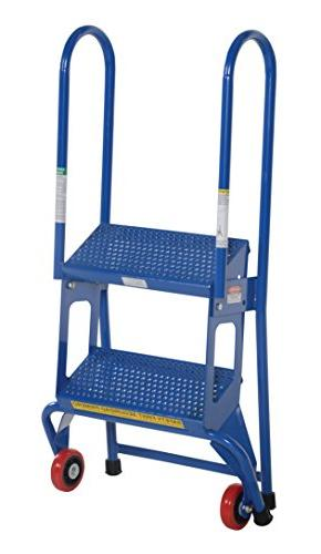 Vestil FLAD-2 Ladder with 2 Capacity, Height
