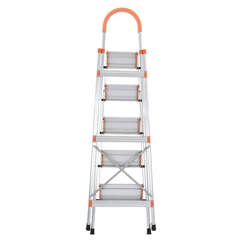NEW 5 Ladder Heavy Duty Stepladder Platform