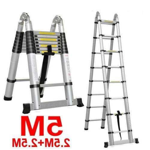 Folding Aluminum Multi Purpose Ladders Building Supplie