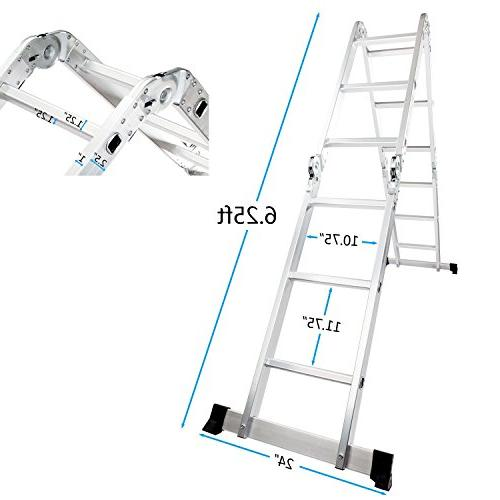 Luisladders Aluminium Extension 7 1 Combination EN 131
