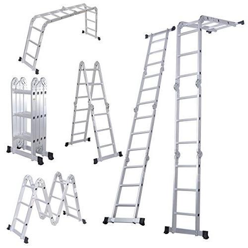 folding ladder multi purpose aluminium