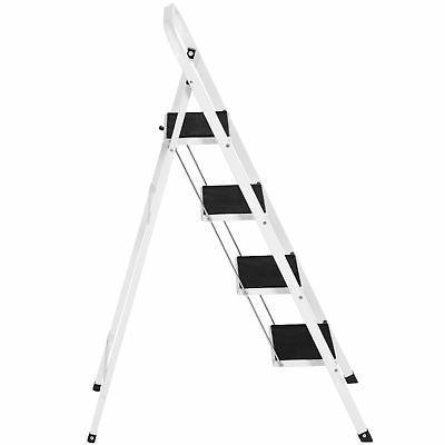 Portable Step Ladder Steel Heavy Duty