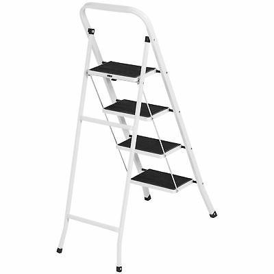 Portable Ladder Steel Stool Heavy Duty