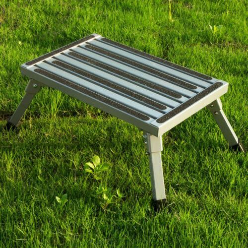 Folding Aluminum Anti-Skid Platform Portable