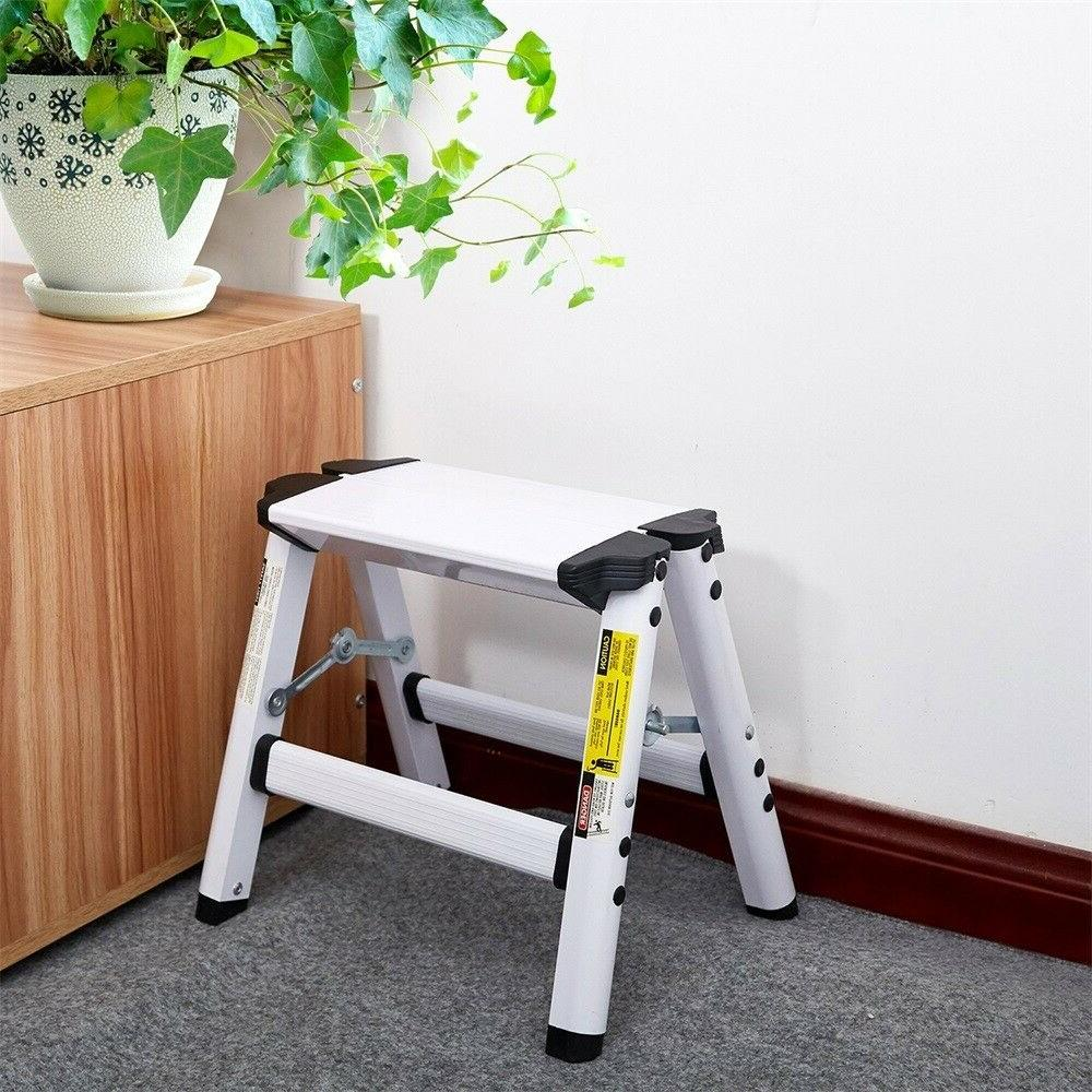 Folding Step Metal Ladder Stools for Home lbs