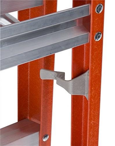 Louisville 8-Foot Step/Shelf Orange, FXS1508