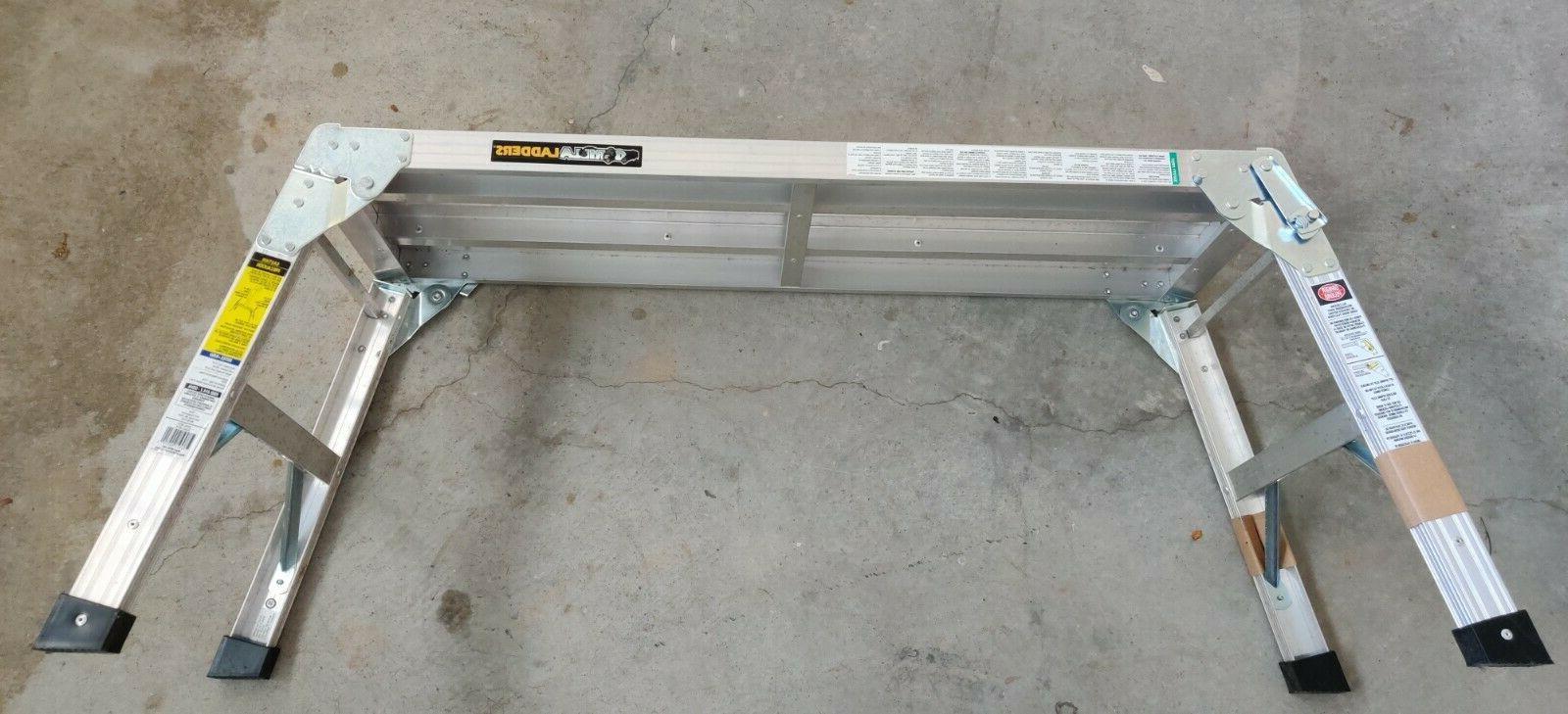 aluminum slim fold work platform max 250