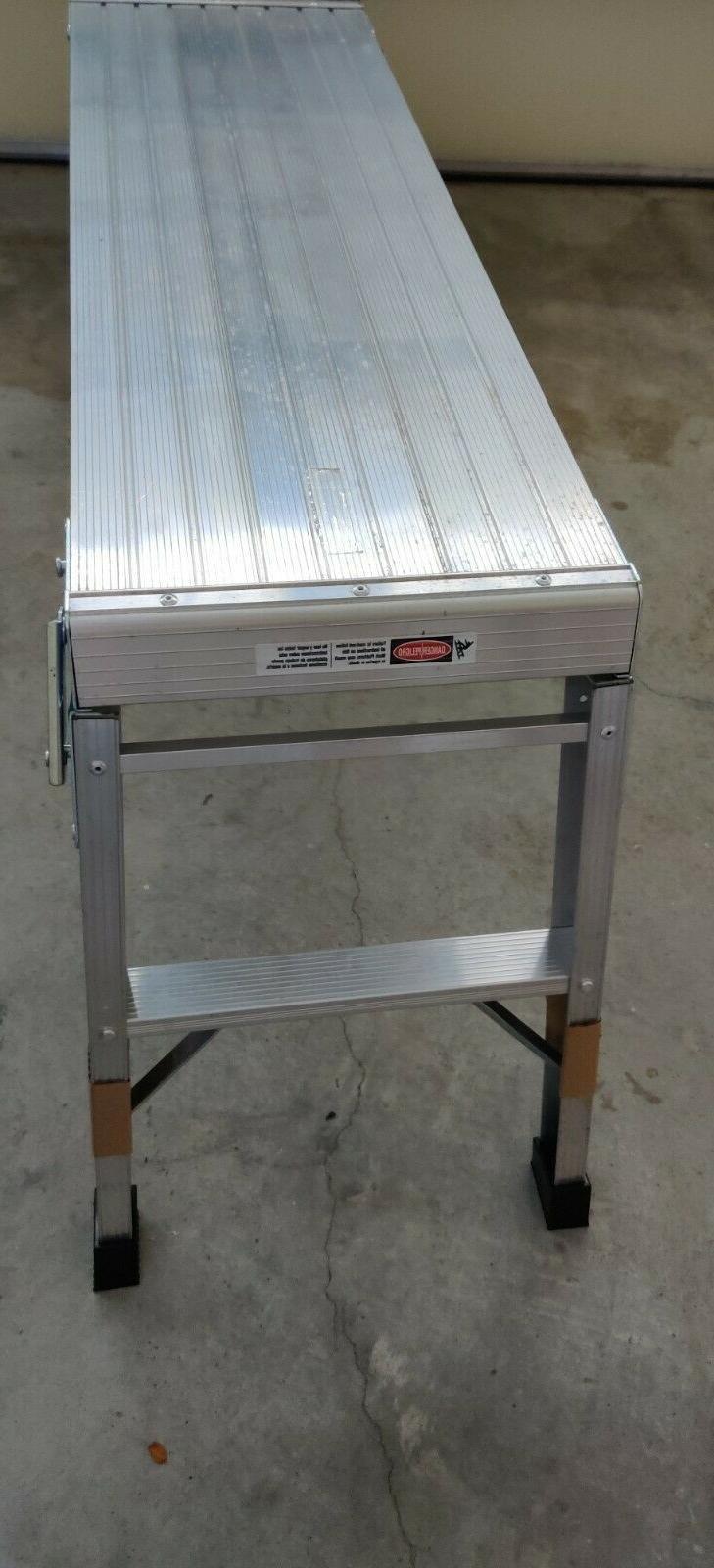 Gorilla Ladders Aluminum Work Platform Max lbs