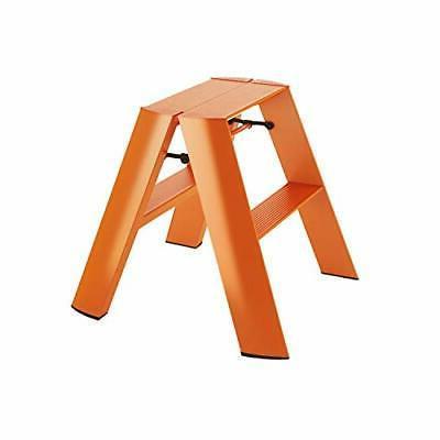 Hasegawa Ladders, Lucano Step Stool WIDE 2 Step, ANSI certif
