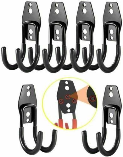 heavy duty double hooks garage wall hooks
