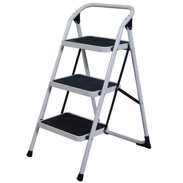 home use 3 step short handrail iron