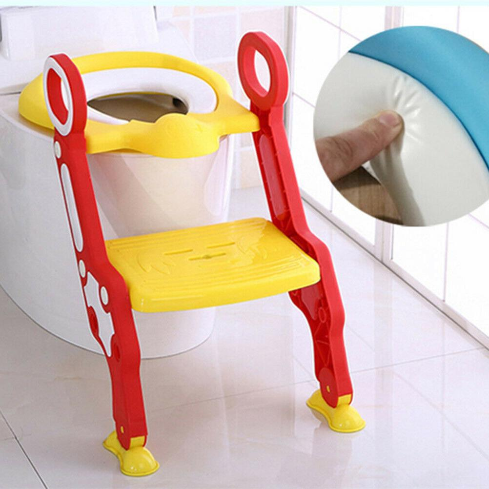 Folding Baby Potty Infant Kids Toilet Training Seat with