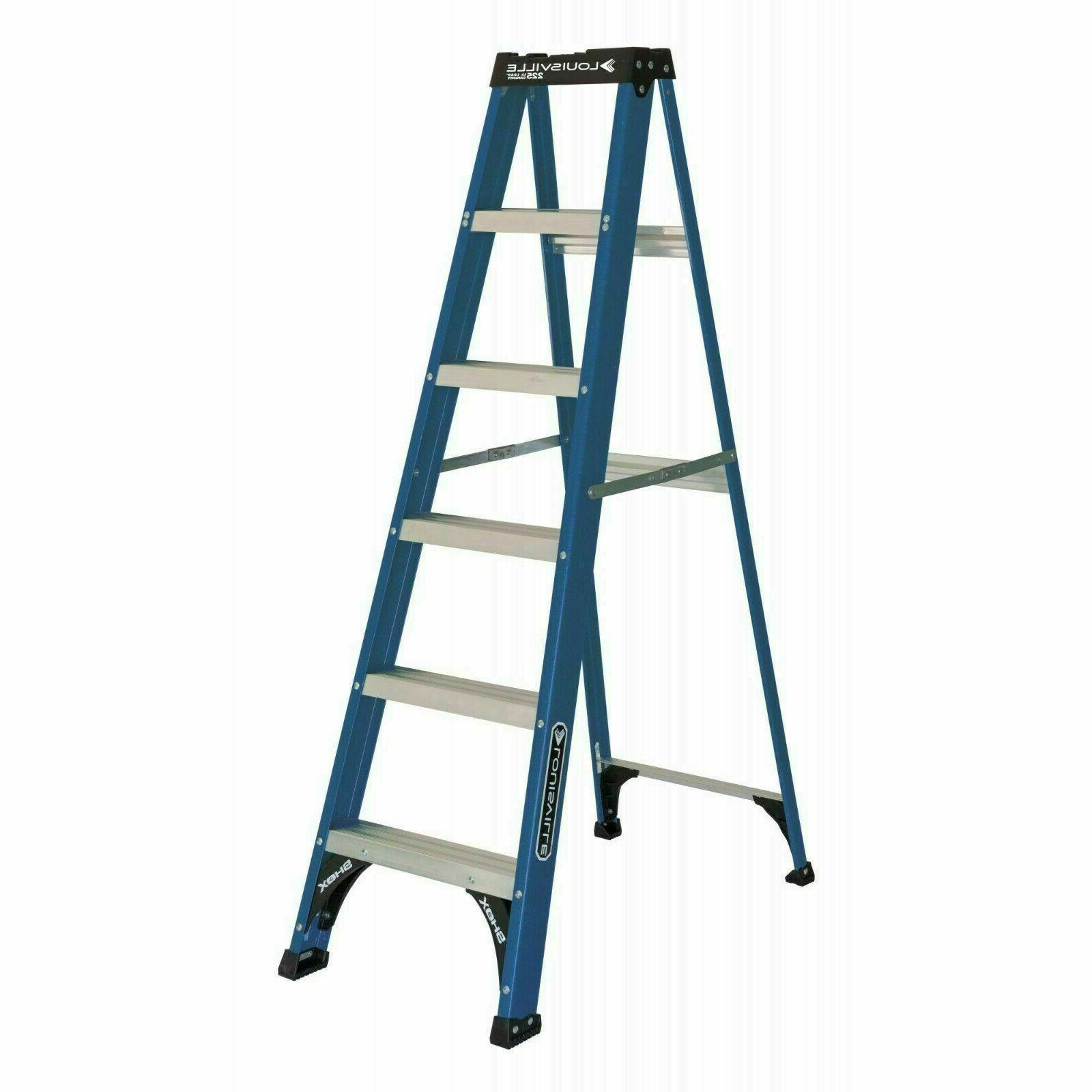 ladder 6 foot fiberglass step ladder 225