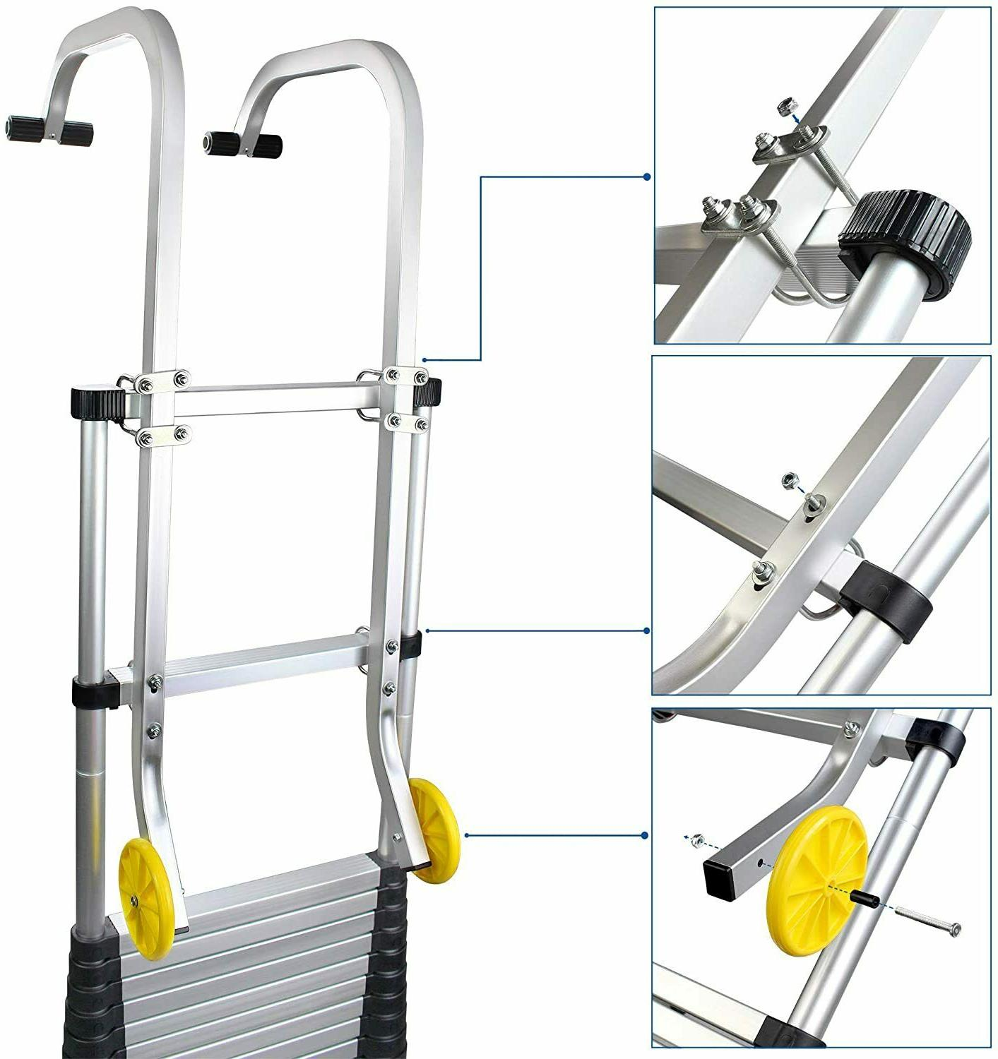 Sotech with Wheels, Universal Ladder Kit for
