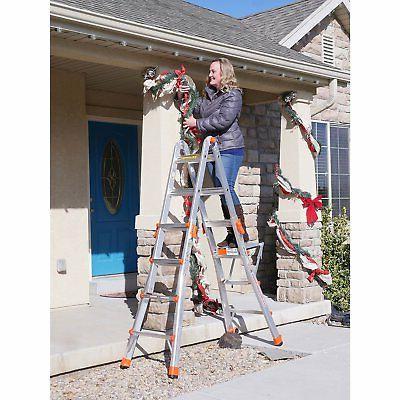 Little Velocity Foot Adjustable Ladder & Work Platform