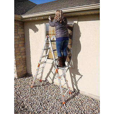 Little Foot Aluminum Ladder & Work